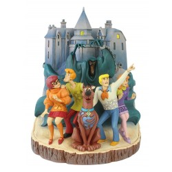 Estatua Scooby Doo Carved by Heart Enesco