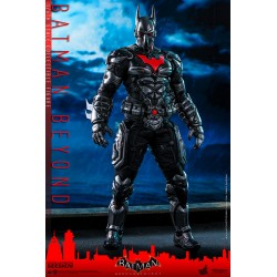 batman beyond hot toys batman arkham knight