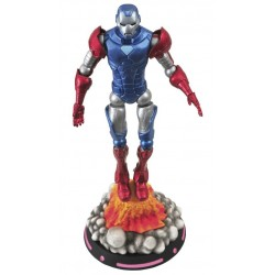 Figura Capitán América Iron Man. Portada What If? (Marvel Select)