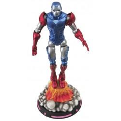 Figura Capitán América Iron Man. Portada What If? (Marvel Select)