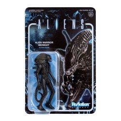 Figura Alien Warrior Midnight Black ReAction Super7