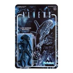 Figura Alien Warrior Nightfall Blue ReAction Super7