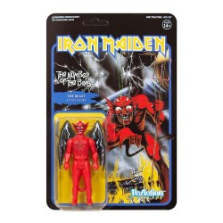 Figura Iron Maiden The Number of the Beast ReAction Super7