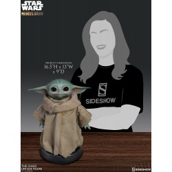 baby yoda the child star wars sideshow mandalorian figura