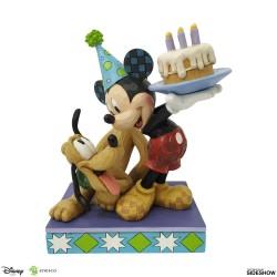 Estatua Mickey y Pluto...