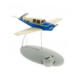 """Avión Tintín. Avión Azul de los Secuestradores en """"El Asunto Tornasol"""""""