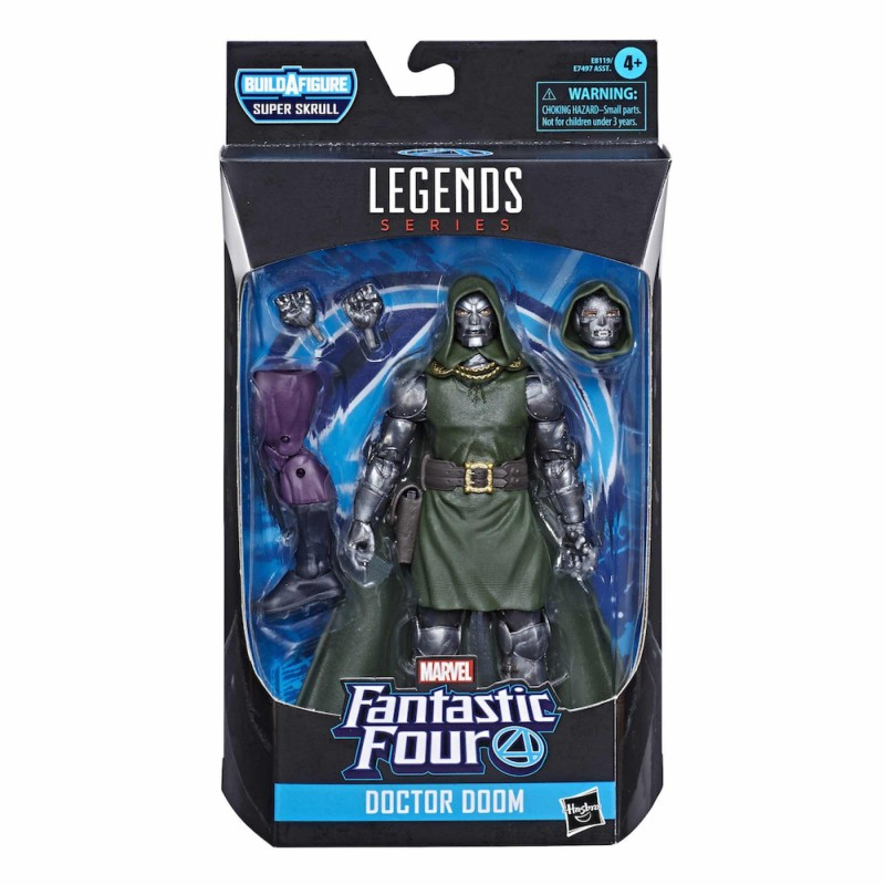 doctor doom variant figura marvel legends