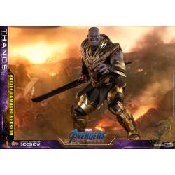 thanos battle damage endgame hot toys