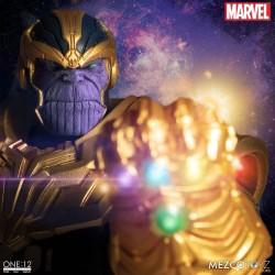 Figura Thanos Marvel Universe Light-Up The One:12 Mezco
