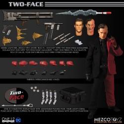 Figura Dos Caras The One:12 Mezco