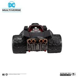 Figura Batman Dark Nights Metal Vehículo Bat-Raptor