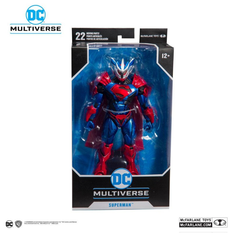Figura Superman Unchained (Unchained Armor)