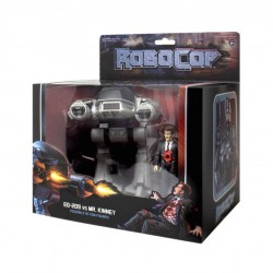 Pack de 2 Figuras Robocop ED-209 vs. Mr. Kinney ReAction Super7
