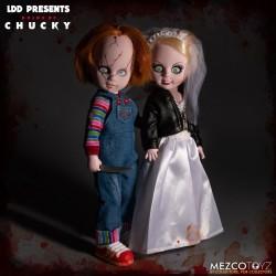 chucky tiffany living dead dolls mezco pack figuras