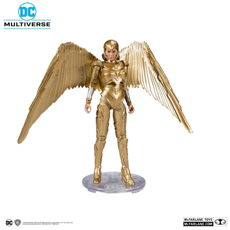 Figura Wonder Woman 1984 Armadura Dorada McFarlane Toys DC Comics