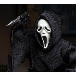 Figura Scream Ghostface con Ropa NECA