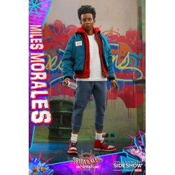 miles morales spiderman hot toys figura