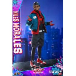 miles morales spiderman hot toys figura