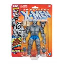 la bestia marvel legends figura hasbro