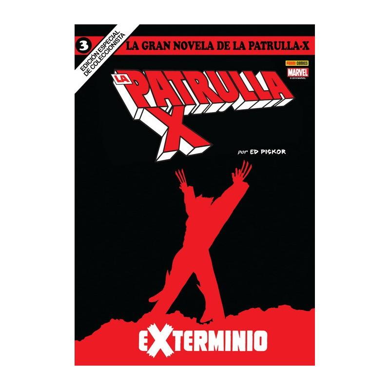 La Gran Novela de la Patrulla X 3. Exterminio (Colección Novelas Gráficas Marvel)