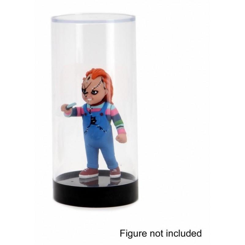 Display Cilíndrico Transparente Para Figuras 3.75 Pulgadas Neca