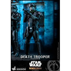 death trooper hot toys star wars mandalorian figura