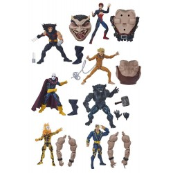 Figuras X-Men Age of Apocalypse Marvel Legends Wave Completa era de apocalipsis