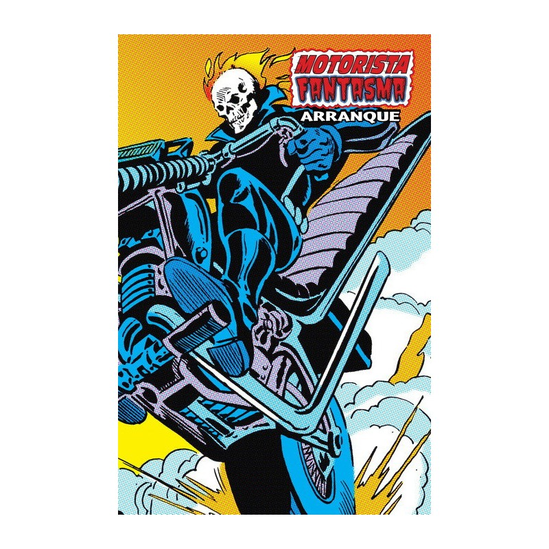 comic Motorista Fantasma Arranque Marvel Limited Edition panini