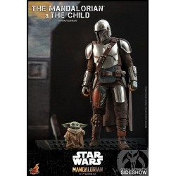 mandalorian the child hot toys figuras star wars