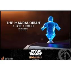 figuras mandalorian baby yoda the child hot toys deluxe star wars