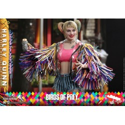 Figura Harley Quinn Caution Tape Jacket Birds of Prey Hot Toys