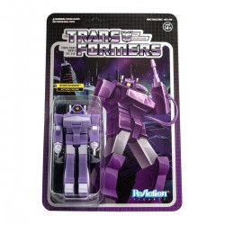 Figura Shockwave Transformers Wave 2 ReAction Super7