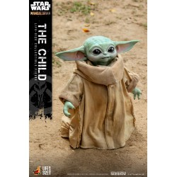figura baby yoda hot toys mandalorian the child