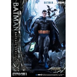 estatua batman hush prime1 deluxe bonus edition comprar figura batcave version