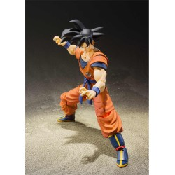 figura goku raised earth sh figuarts bandai