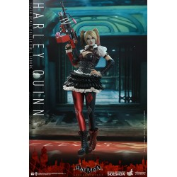 figura harley quinn hot toys batman arkham knight