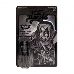figura king diamond blanco y negro super7 reaction