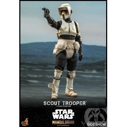 figura scout trooper hot toys star wars mandalorian