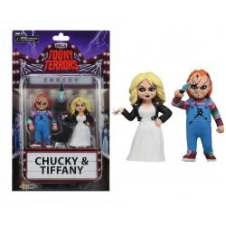 pack figuras chucky y tiffany toony terrors