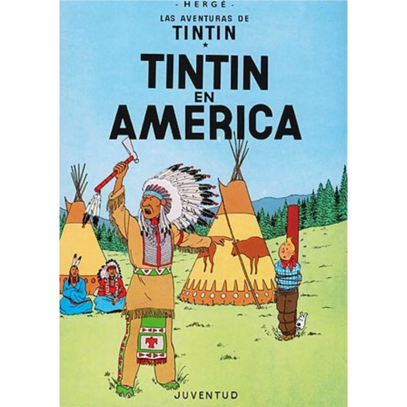 Tintín 3. Tintín en América