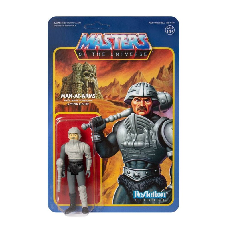 Figura Man At Arms Masters del Universo Película 1987 Reaction Super7