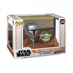 Mandaloriano y Baby Yoda Star Wars The Mandalorian POP Funko
