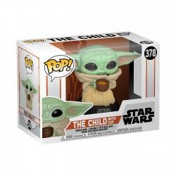 Baby Yoda con Taza Star Wars The Mandalorian POP Funko