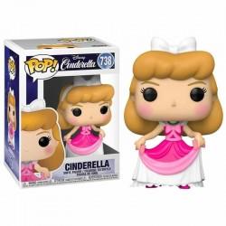 cenicienta funko pop disney vestido rosa pink cinderella