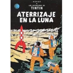 Tintín 17. Aterrizaje en la Luna