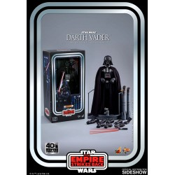 figura darth vader hot toys 40 aniversario star wars imperio contraataca