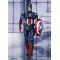 Figura Capitán América Vengadores Endgame SH Figuarts Bandai Tamashii Nations
