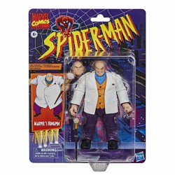 figura kingpin marvel legends vintage spiderman hasbro