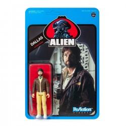 figura alien dallas reaction super7 blue card