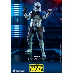 figura hot toys capitan rex clone wars star wars